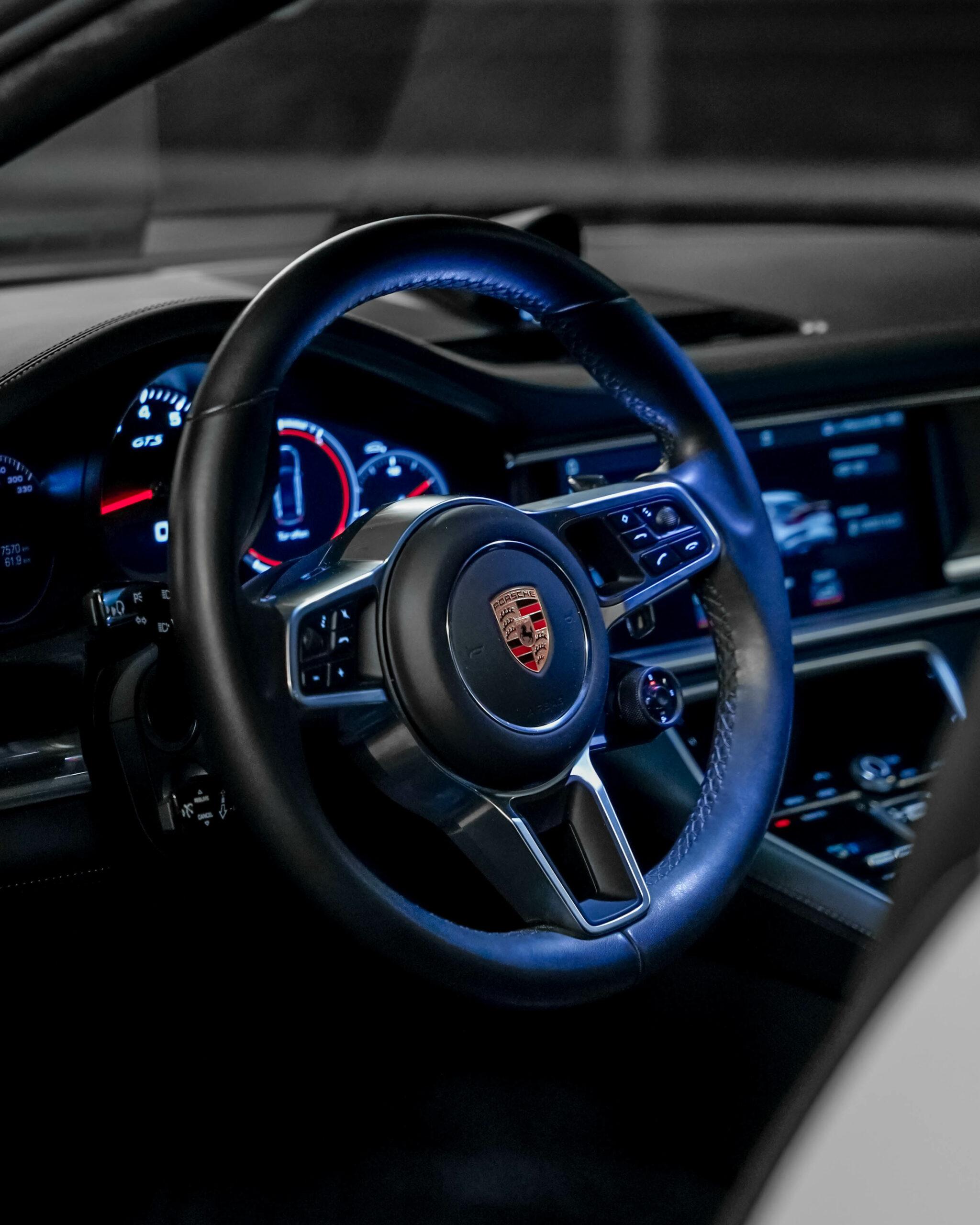 Porsche Panamera Lenkrad Beleuchtet